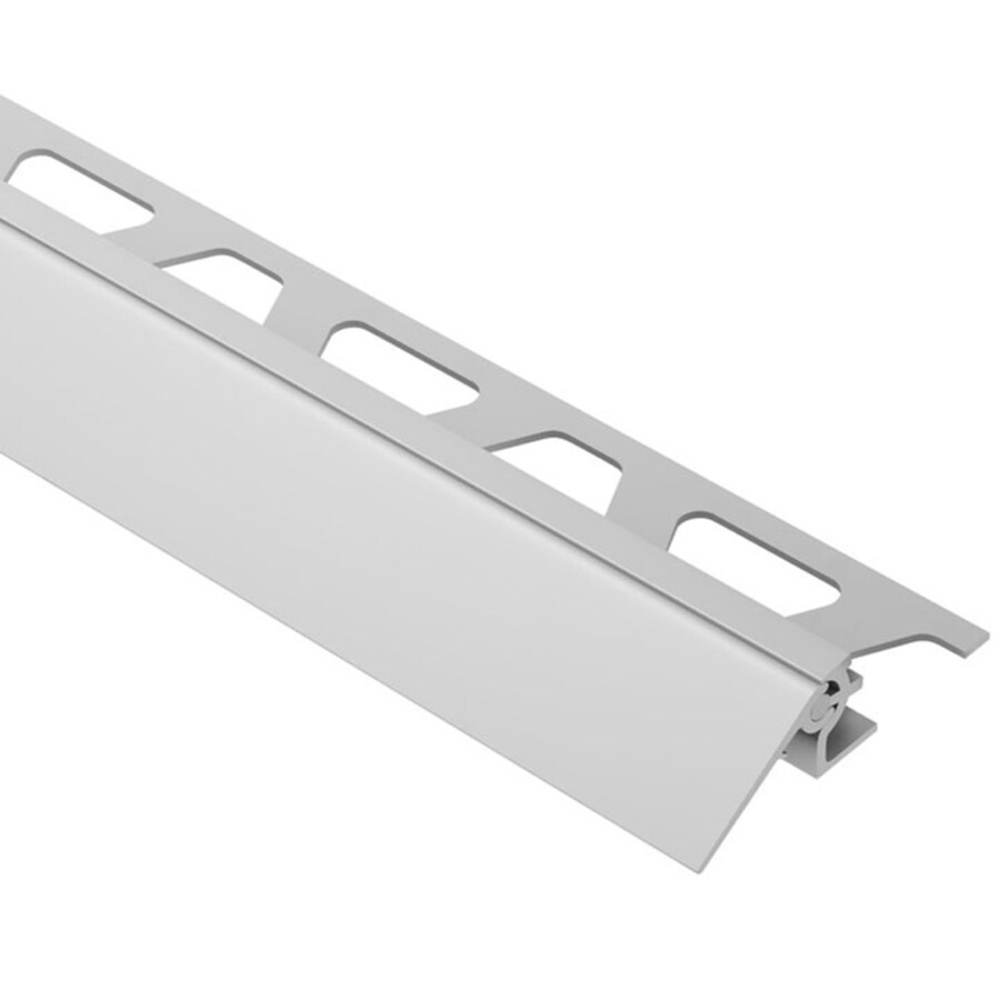 Schluter Systems 0.688-in W x 98.5-in L Aluminum Commercial/Residential Tile Edge Trim