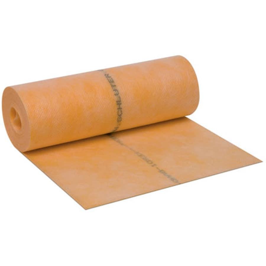 Schluter Systems 0.004-in Orange Plastic Commercial/Residential Tile Membrane