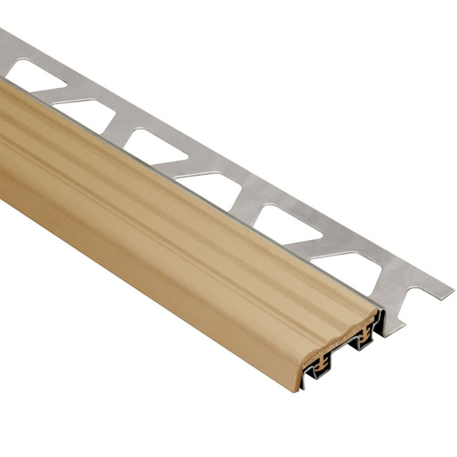 Schluter Systems 0.5-in W x 59-in L Steel Commercial/Residential Tile Edge Trim