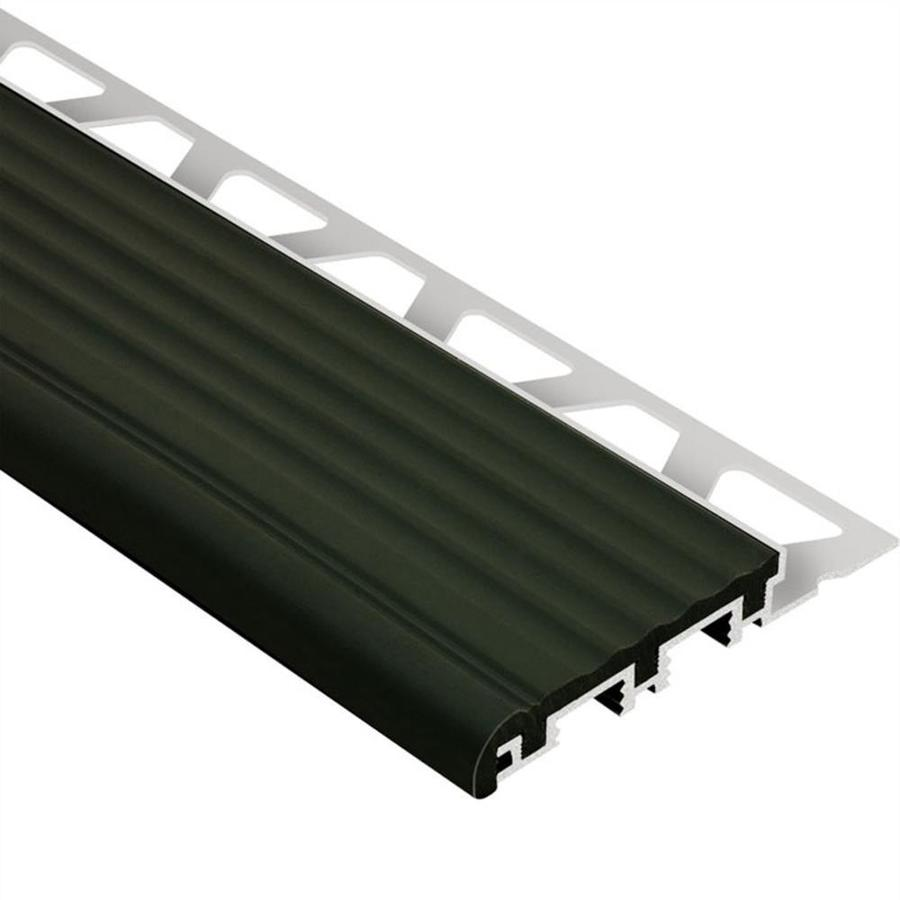 Schluter Systems 1-in W x 59-in L Aluminum Commercial/Residential Tile Edge Trim