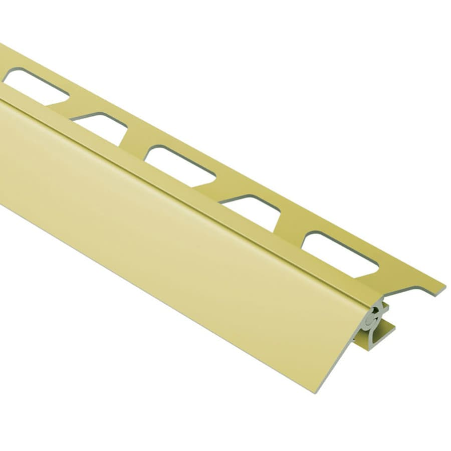 Schluter Systems 0.375-in W x 98.5-in L Aluminum Commercial/Residential Tile Edge Trim