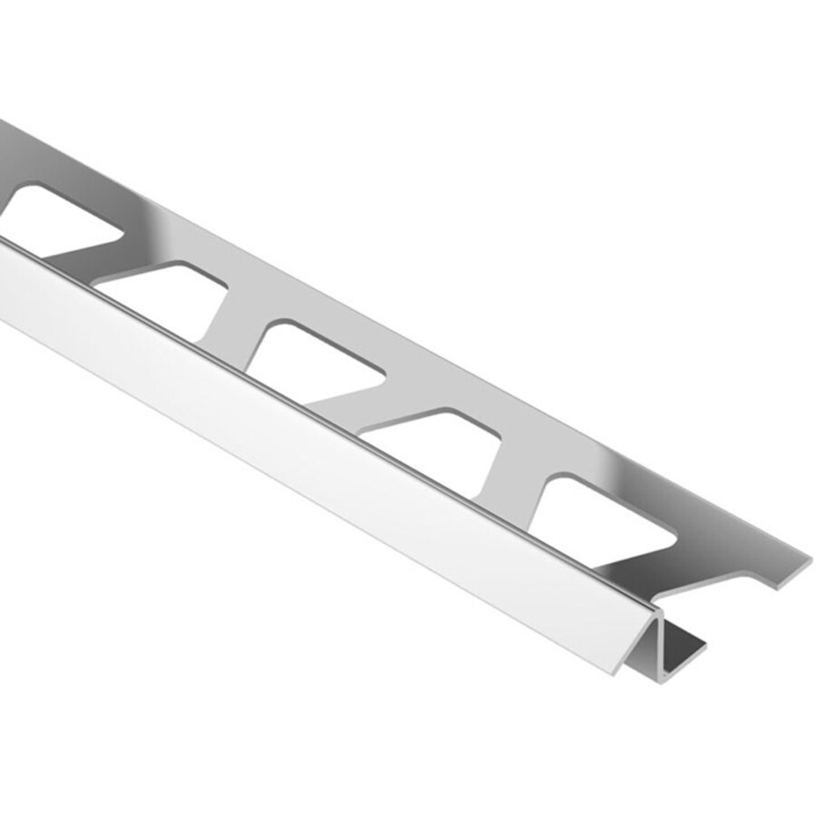 Schluter Systems 0.375-in W x 98.5-in L Steel Commercial/Residential Tile Edge Trim