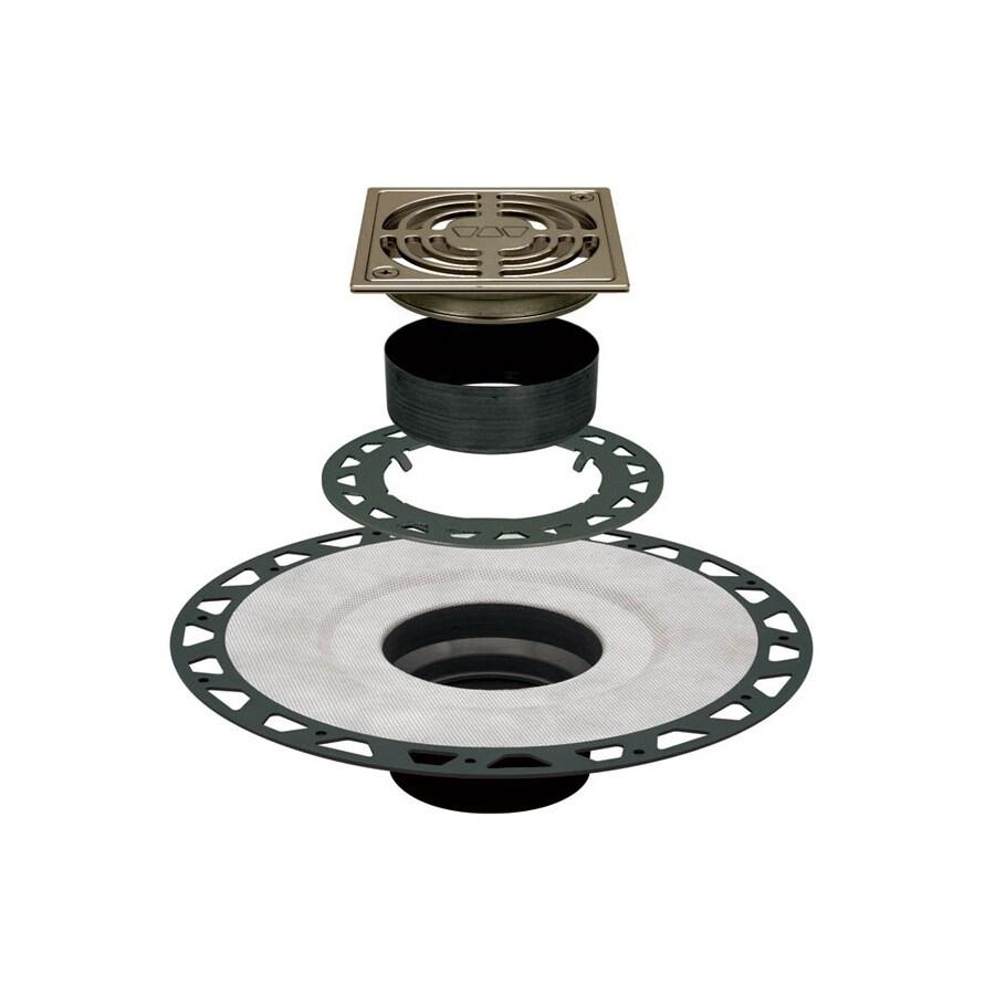 Schluter Systems Kerdi Brushed Nickel Anodized Aluminum Shower Drain