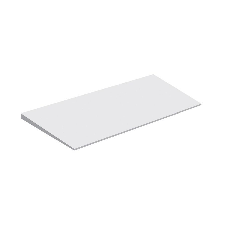 Schluter Systems White Styrene Shower Floor Ramp