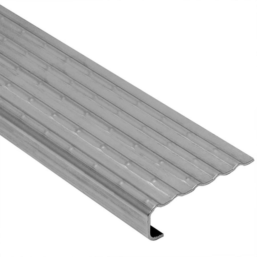 Schluter Systems 0.125-in W x 98.5-in L Steel Commercial/Residential Tile Edge Trim