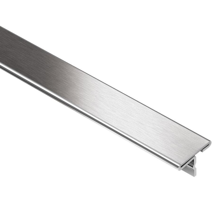 Schluter Systems 0.344-in W x 98.5-in L Steel Commercial/Residential Tile Edge Trim