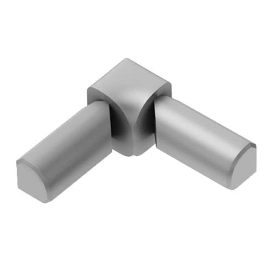 Schluter Systems 0.5-in W x 1-in L Aluminum Commercial/Residential Tile Edge Trim