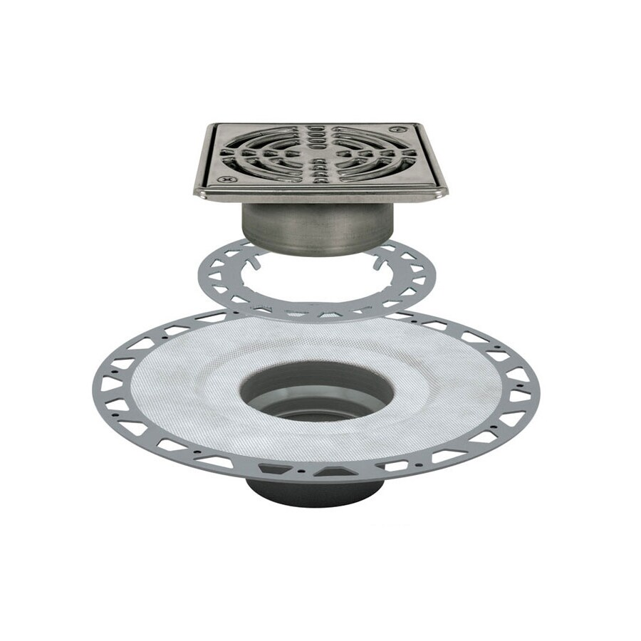 Schluter Systems Kerdi Stainless Steel Stainless Steel Shower Drain