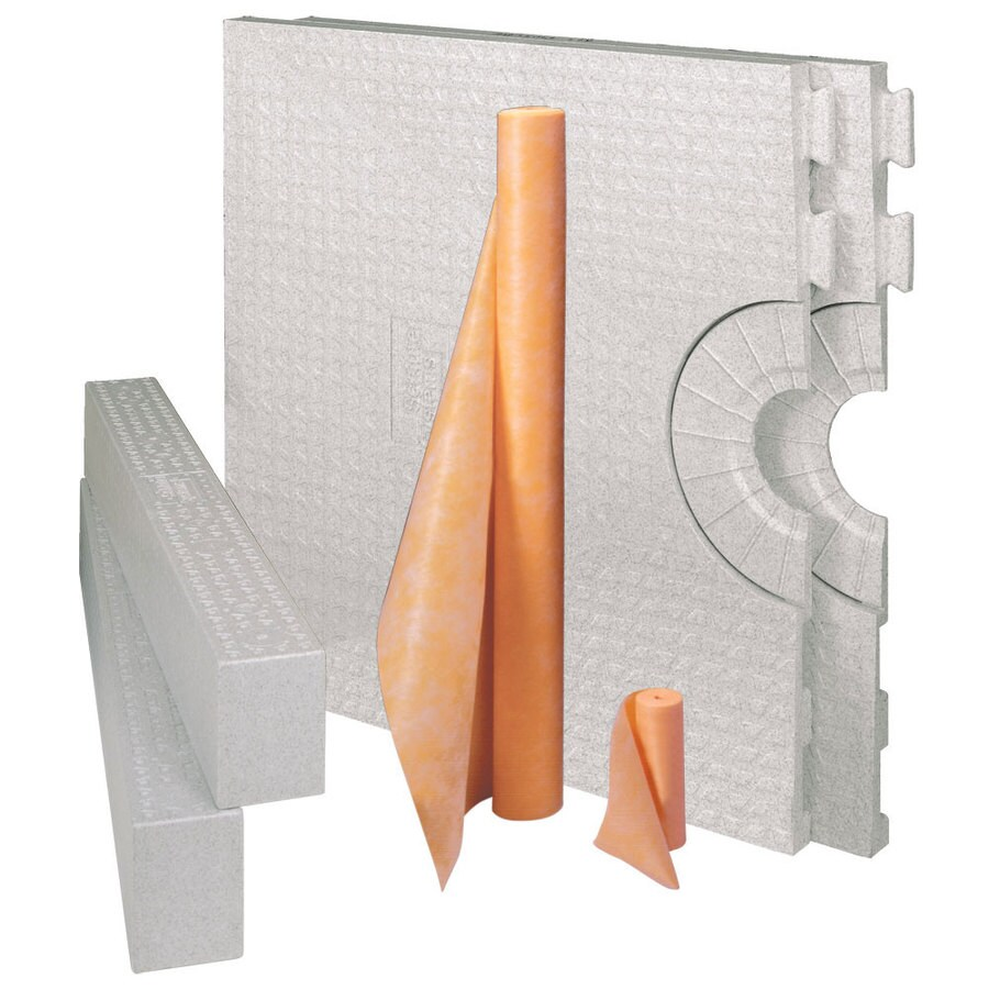 Schluter Systems Kerdi White Styrene Shower Kit