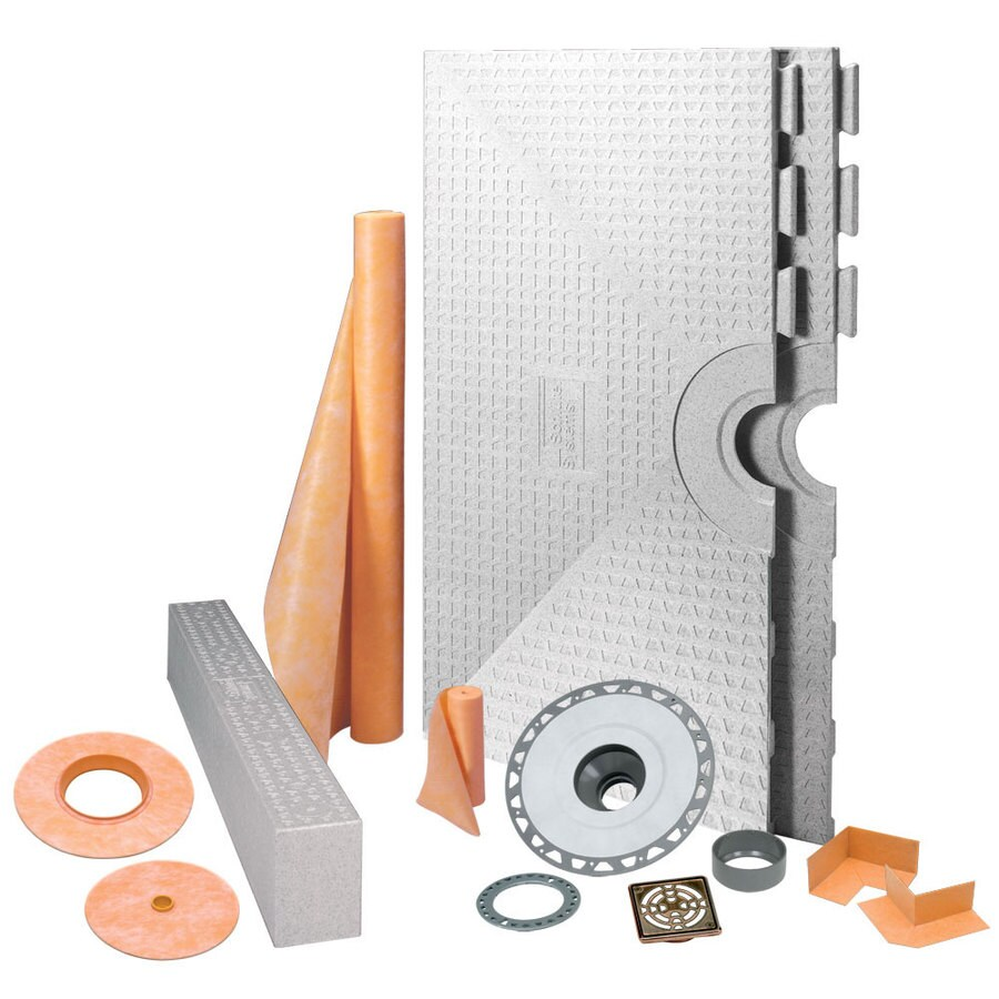 Schluter Systems Schluter Kerdi Oil Rubbed Bronze Styrene Shower Kit