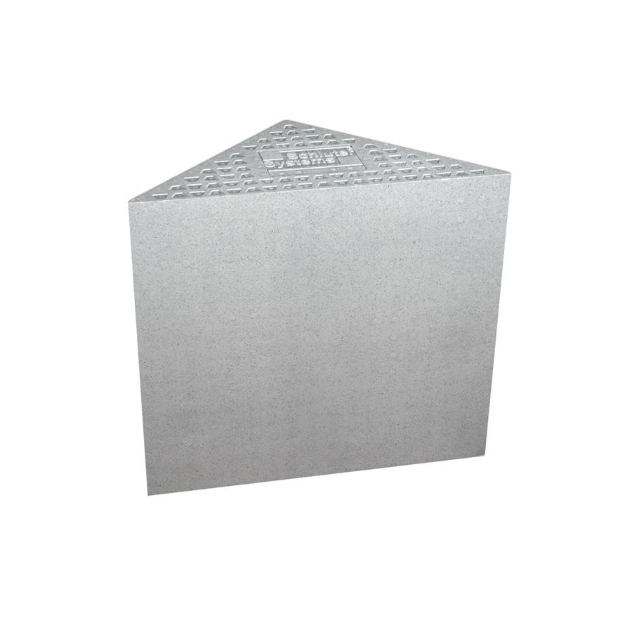 Schluter Systems White Corner Shower Wall Bench