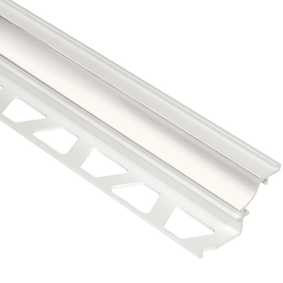 Schluter Systems 0.5-in W x 98.5-in L PVC Commercial/Residential Tile Edge Trim