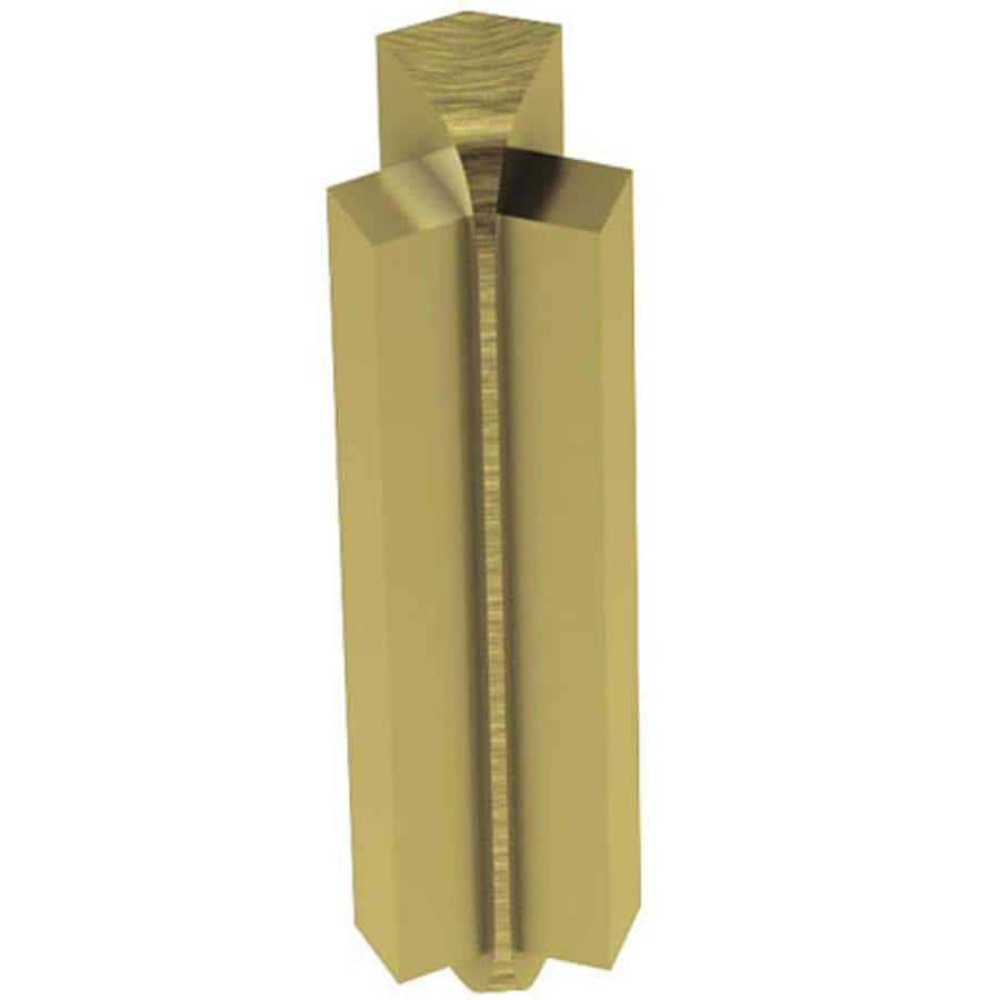 Schluter Systems 0.375-in W x 1.875-in L Aluminum Commercial/Residential Tile Edge Trim