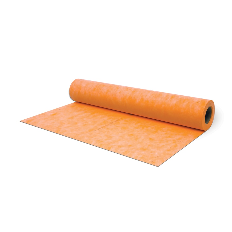 Schluter Systems 215-sq ft 0.008-in Orange Plastic Commercial/Residential Tile Membrane