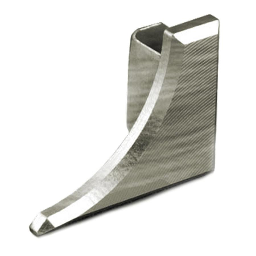Schluter Systems 0.25-in W x 0.5-in L Aluminum Commercial/Residential Tile Edge Trim