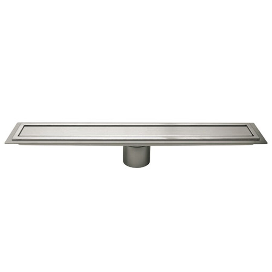 Schluter Systems Silver Stainless Steel Grate