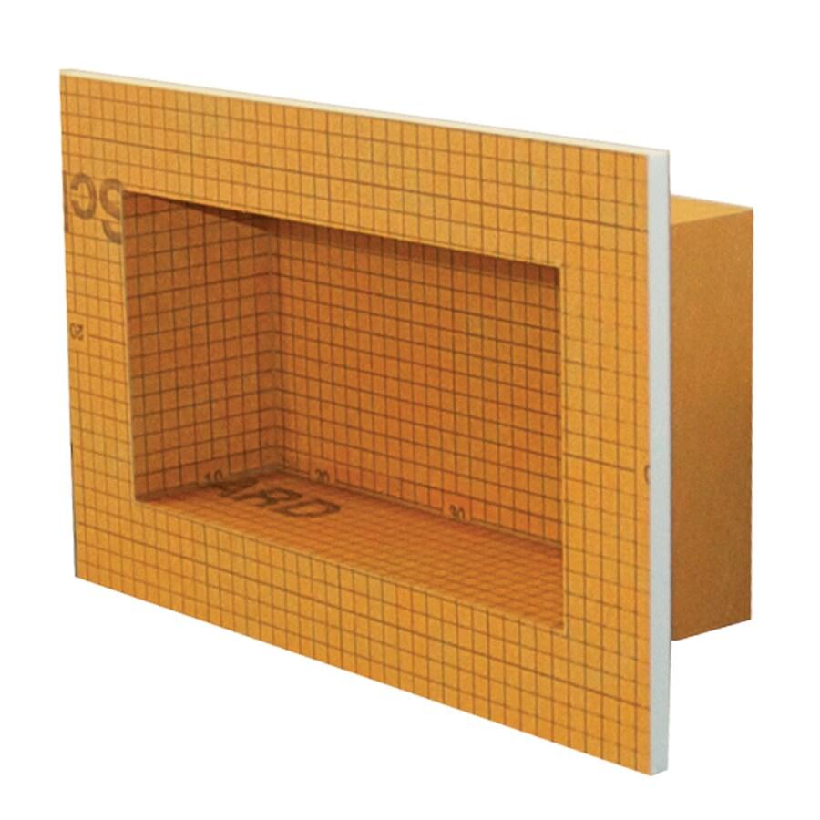 Schluter Systems Kerdi Board Niche Shower Wall Shelf