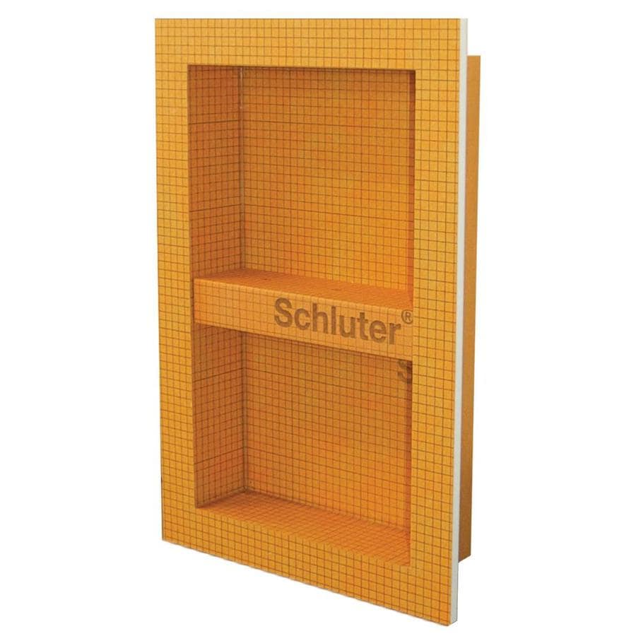 Shop schluter systems kerdi orange shower wall niche at lowes com