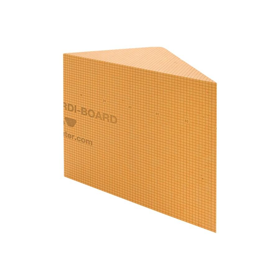 Schluter Systems Kerdi Orange Shower Wall Corner Shower Bench