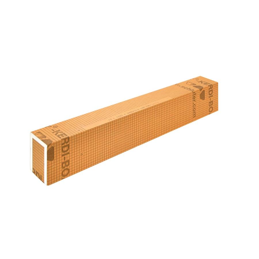 Schluter Systems Kerdi Orange Styrene Shower Curb