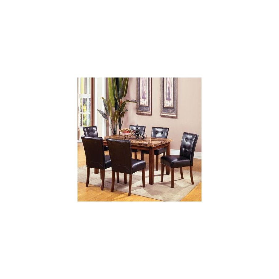Furniture of America Little Rock Dark Oak Rectangular Dining Table