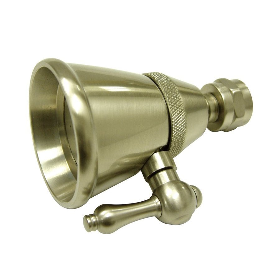 Elements of Design Hot Springs Victorian 2.25-in 2.5-GPM (9.5-LPM) Satin Nickel Showerhead