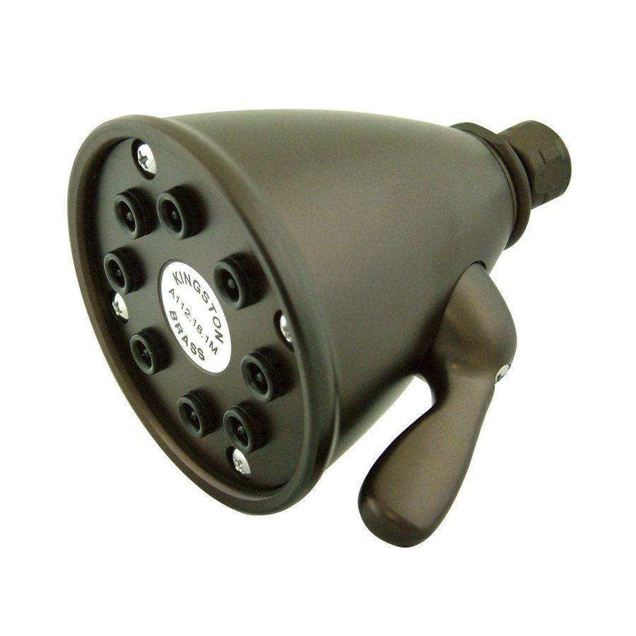 Elements of Design Victorian 3.625-in 2.5-GPM (9.5-LPM) Oil-Rubbed Bronze Showerhead