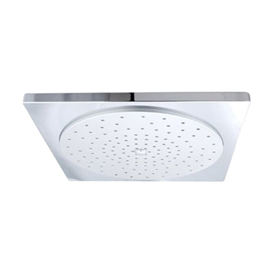 Elements of Design Claremont 2.75-in 2.5-GPM (9.5-LPM) Polished Chrome Rain Showerhead