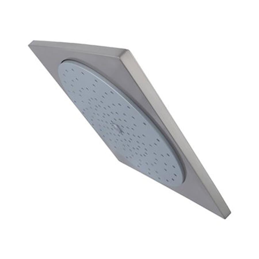 Elements of Design Claremont 2.75-in 2.5-GPM (9.5-LPM) Satin Nickel Rain Showerhead