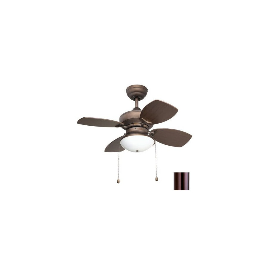 Shop yosemite home decor 28 in hurricane oil rubbed bronze ceiling fan with light kit at Home decorations light kit