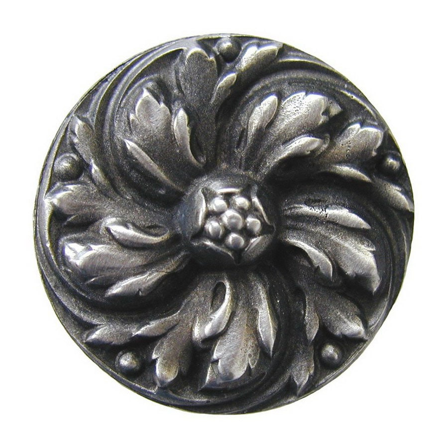 Notting Hill 1-3/8-in Pewter English Garden Round Cabinet Knob