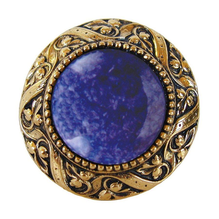 Notting Hill 1-3/8-in Brass Jewel Round Cabinet Knob