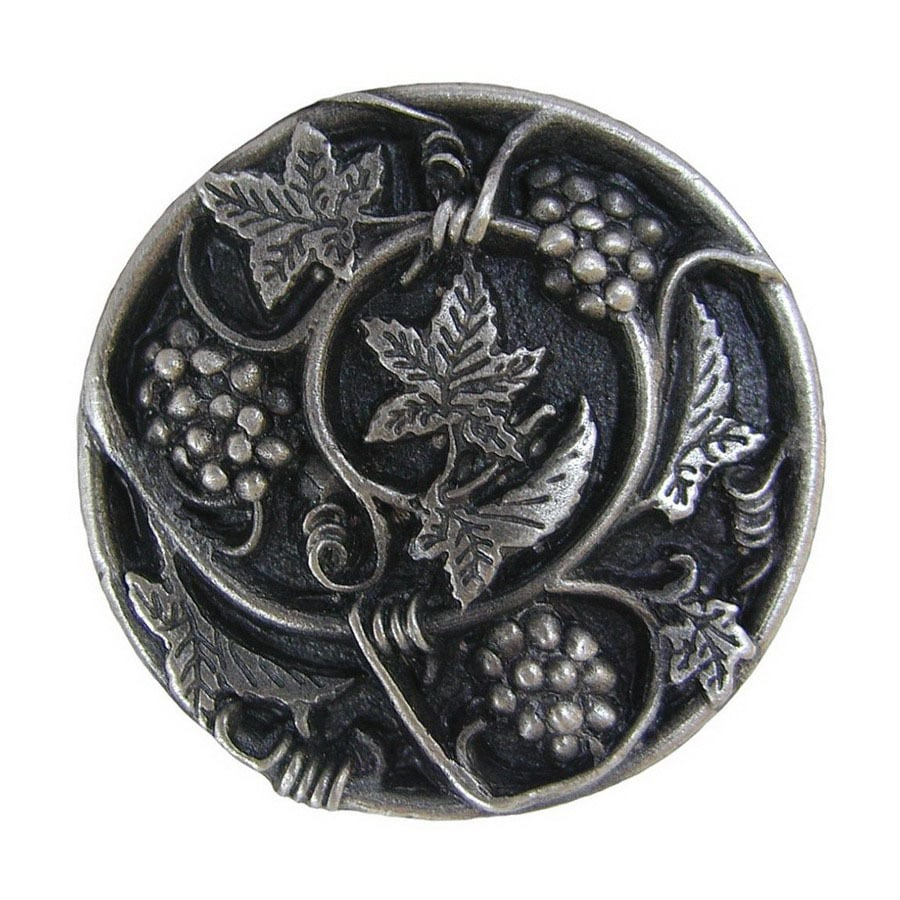 Notting Hill 1-5/16-in Pewter Tuscan Round Cabinet Knob