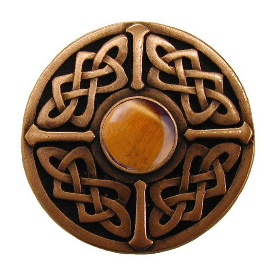 Notting Hill 1-3/8-in Copper Jewel Round Cabinet Knob