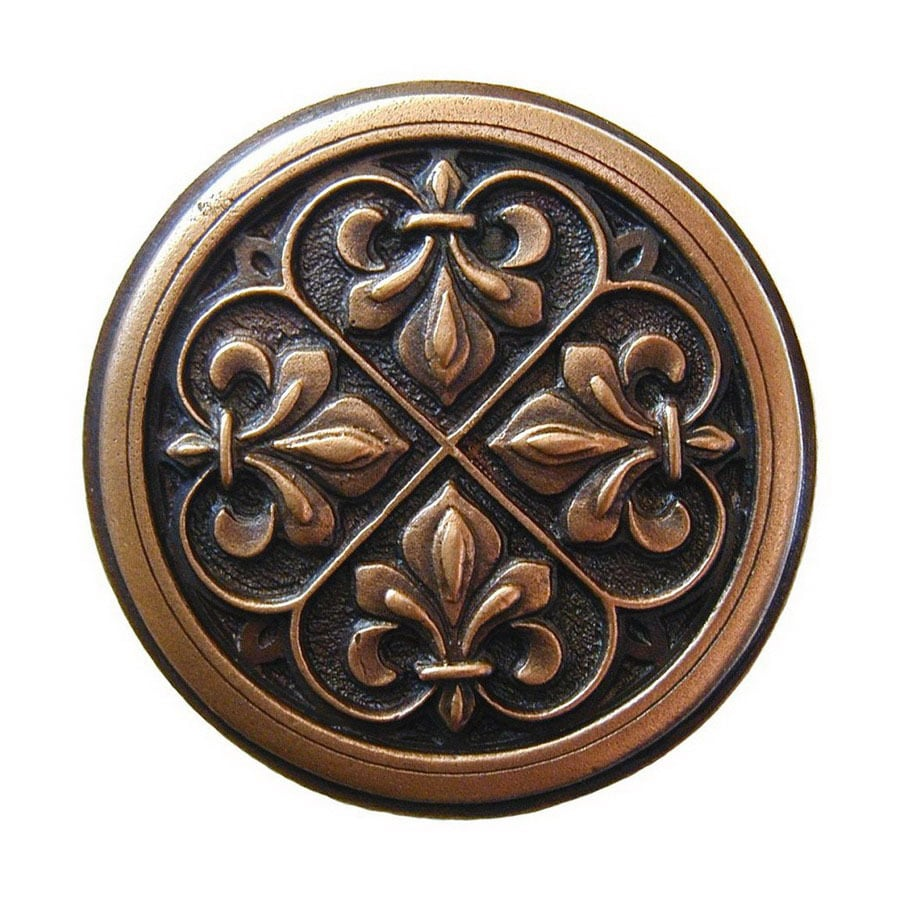 Notting Hill 1-3/8-in Copper Olde World Round Cabinet Knob