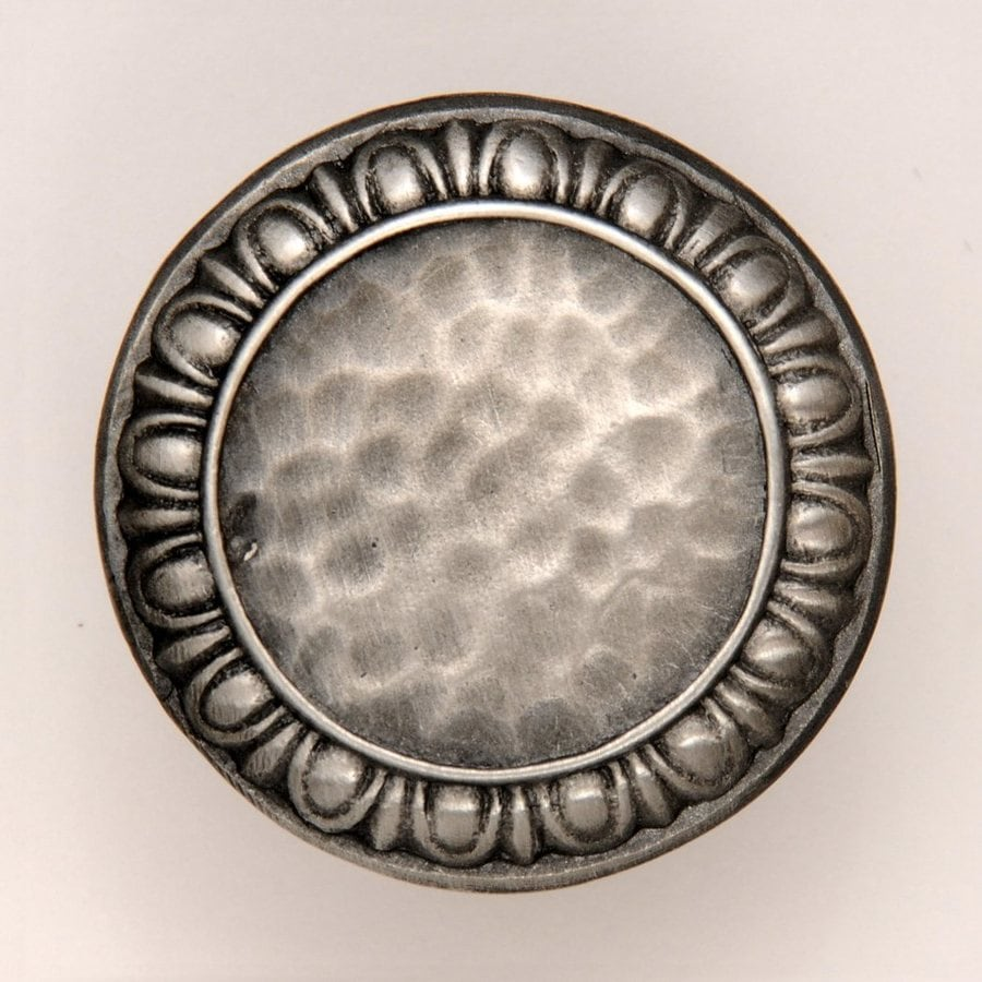 Notting Hill 1-3/8-in Pewter Classic Round Cabinet Knob