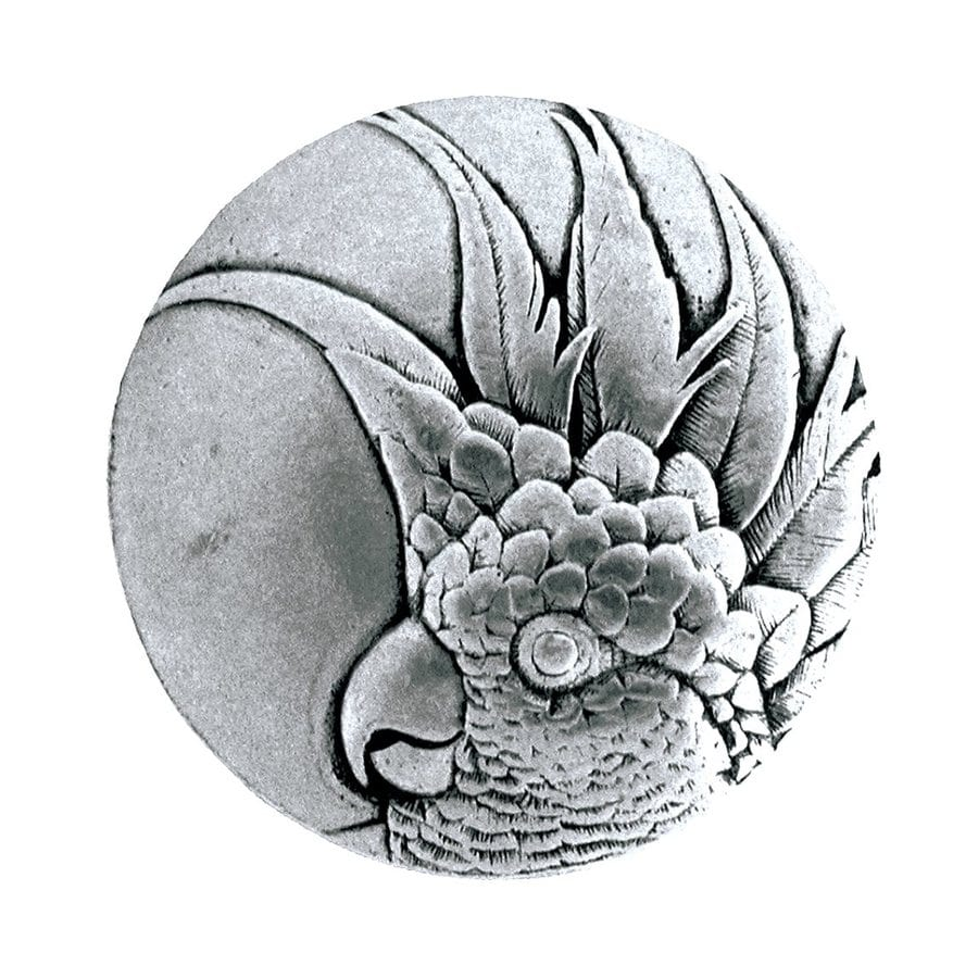 Notting Hill 1-3/8-in Pewter Tropical Round Cabinet Knob
