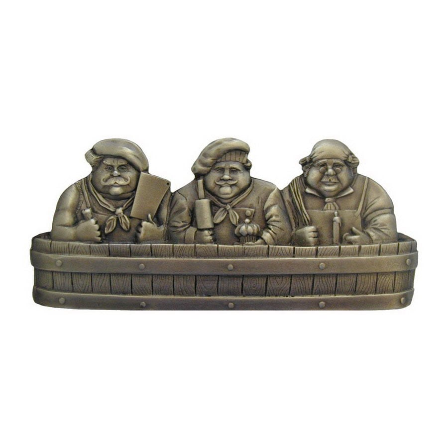 Notting Hill 1-1/4-in Brass Fun in the Kitchen Novelty Cabinet Knob