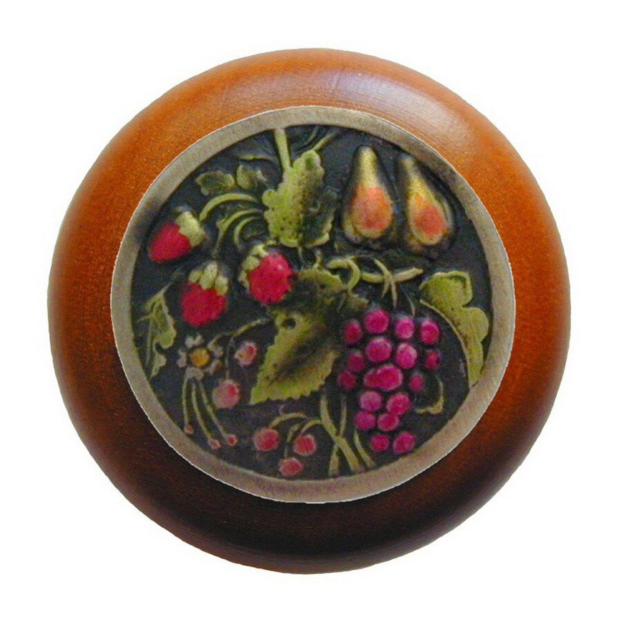 Notting Hill 1-1/2-in Brass Tuscan Round Cabinet Knob