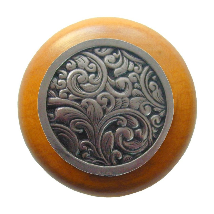 Notting Hill 1-1/2-in Nickel Classic Round Cabinet Knob