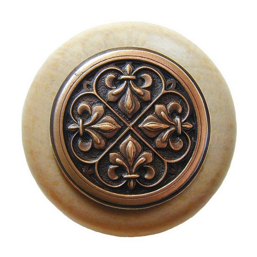 Notting Hill 1-1/2-in Copper Olde World Round Cabinet Knob