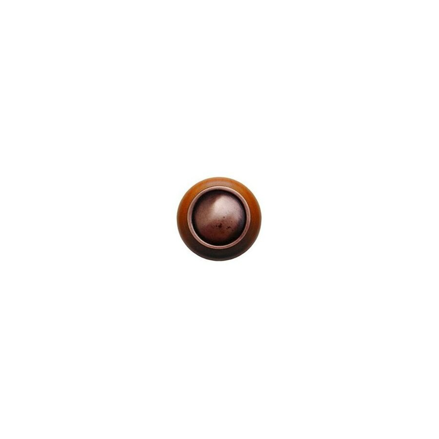 Notting Hill 1-1/2-in Copper Classic Round Cabinet Knob