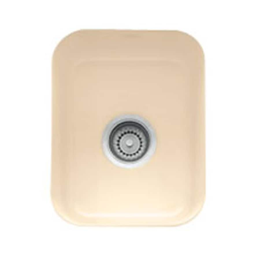 Franke USA Cisterna Biscuit Fireclay Undermount Residential Bar Sink