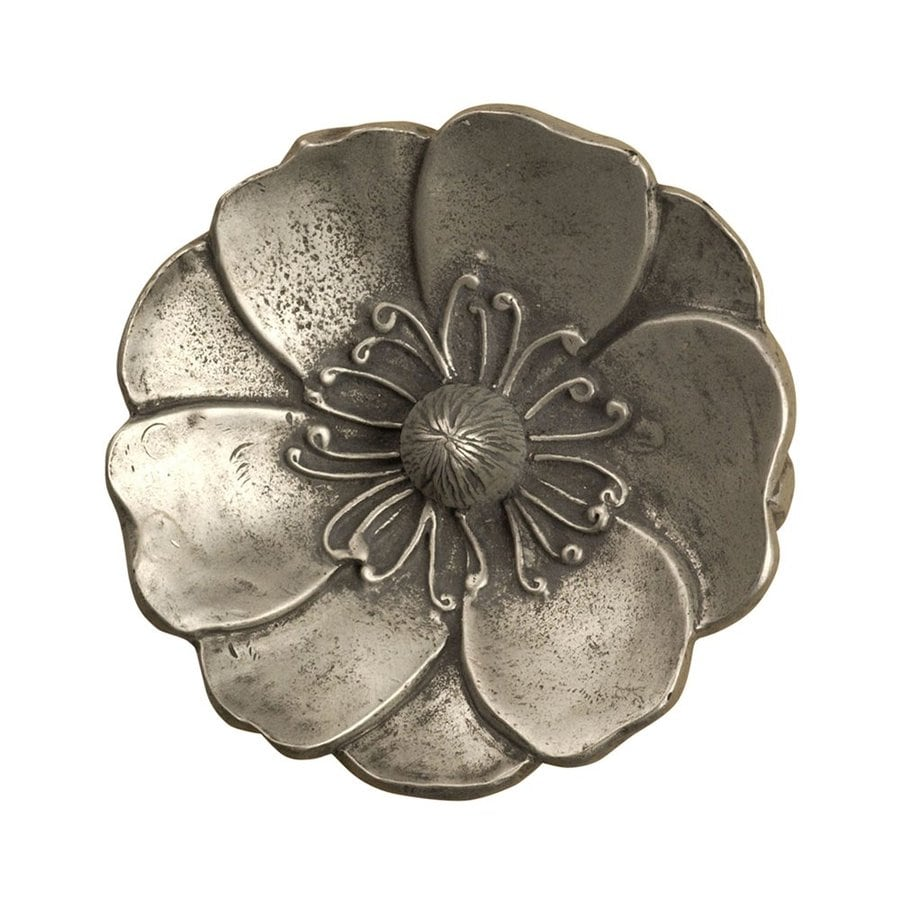 Anne at Home Asian Pewter Matte Novelty Cabinet Knob
