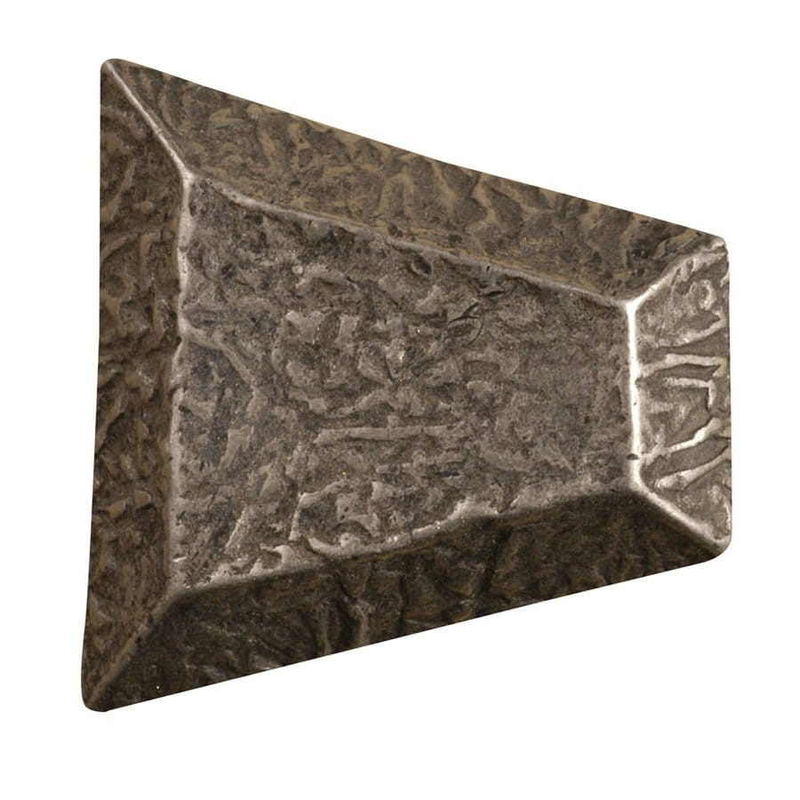 Anne at Home Textures Pewter Matte Cabinet Knob