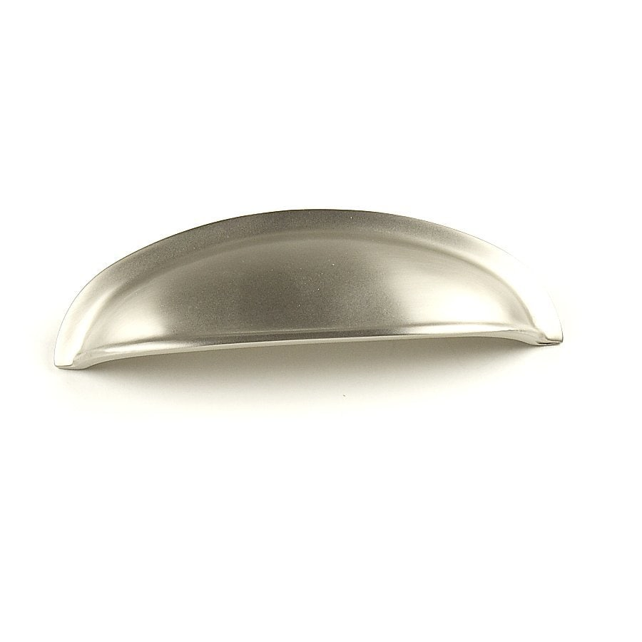 Century Hardware 3-in Center-To-Center Dull Satin Nickel Hartford Cup Cabinet Pull