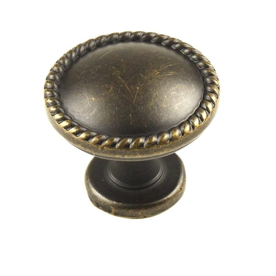Century Hardware Hawthorne German Bronze Round Cabinet Knob