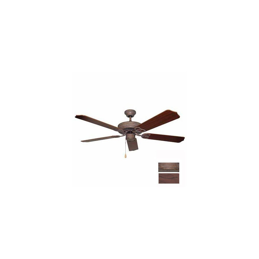 Volume International 52-in Minster Prairie Rock Ceiling Fan