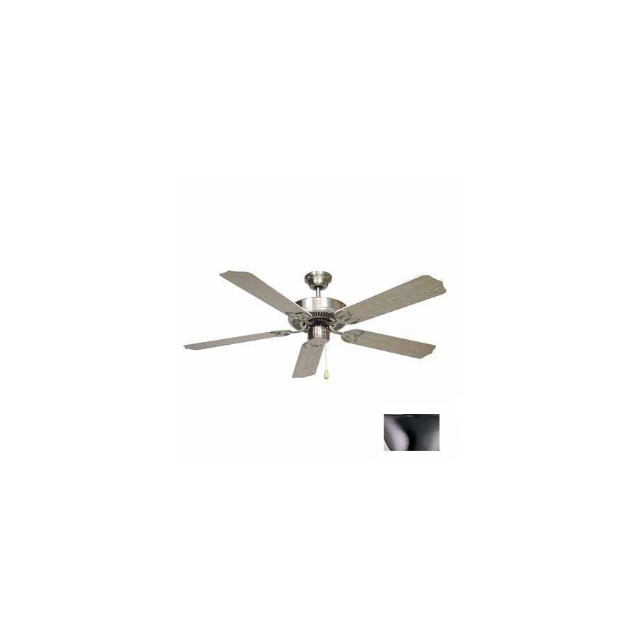 Volume International 52-in Minster Brushed Nickel Ceiling Fan