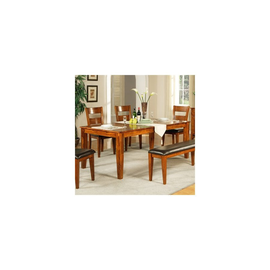 Steve Silver Company Mango Light Oak Rectangular Dining Table